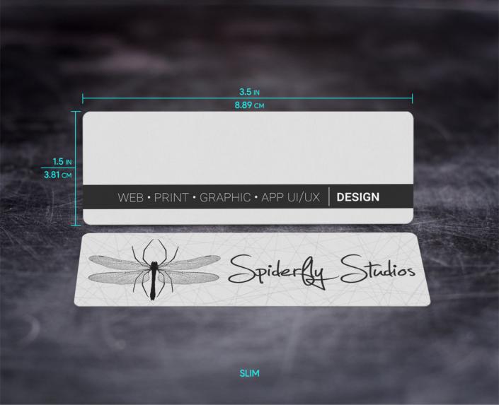 Standard Business Card - Slim