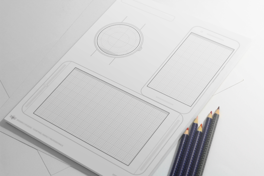 Android Design Wireframes