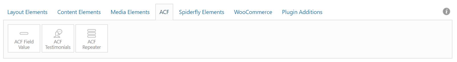 Custom Enfold Layout Elements - ACF