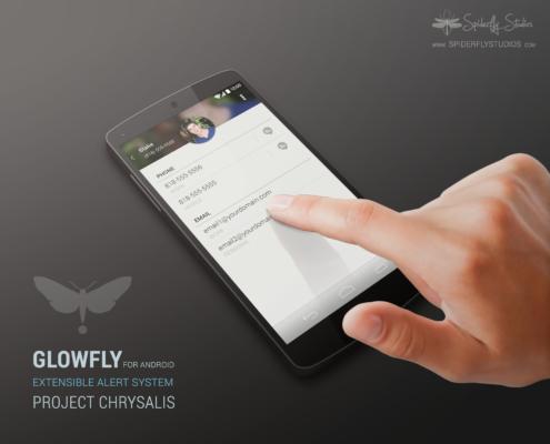 Glowfly Promo Mockup