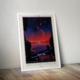 Retro Space Travel Posters - Trappist-1e