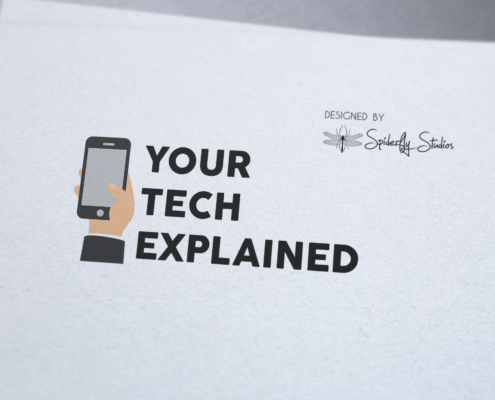 Your Tech Explained Logo - Spiderfly Studios