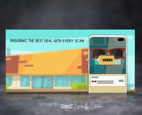 Price Check App Store Banner - Spiderfly Studios