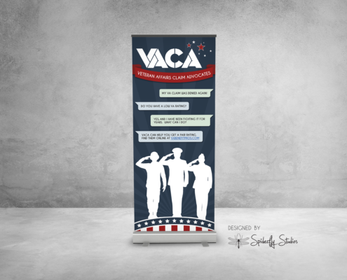 VACA Retractable Banner - Spiderfly Studios