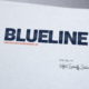 Blue Line Pools Logo - Spiderfly Studios