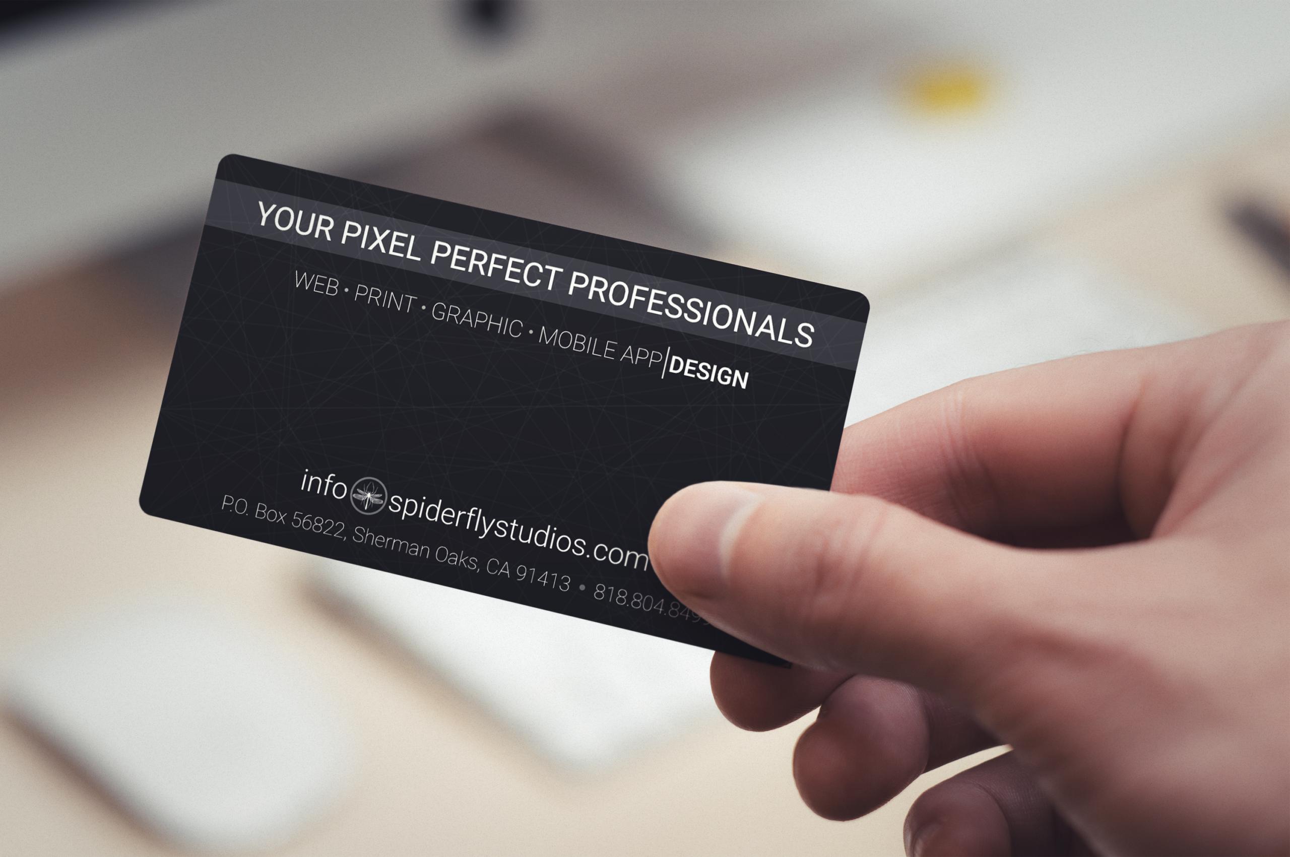 Custom Business Cards – Spiderfly Studios