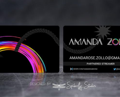 Amanda Rose Business Cards