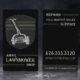 Amar Lawnmower Shop - Business Cards - Spiderfly Studios