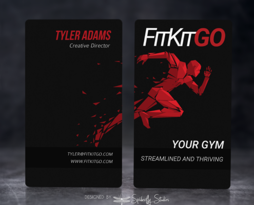 Fit Kit Go Business Cards - Spiderfly Studios
