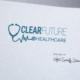 Clear Future Healthcare Logo - Spiderfly Studios
