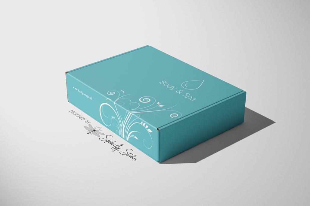 Body & Spa Product Box - Spiderfly Studios