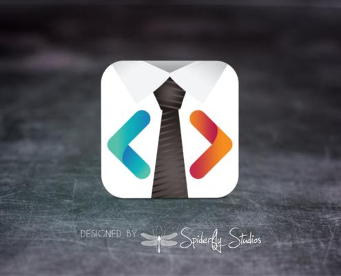 BizCode Launcher Icon - Spiderfly Studios