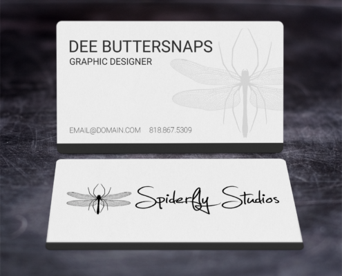 Creative Corporate Business Cards - Dark
