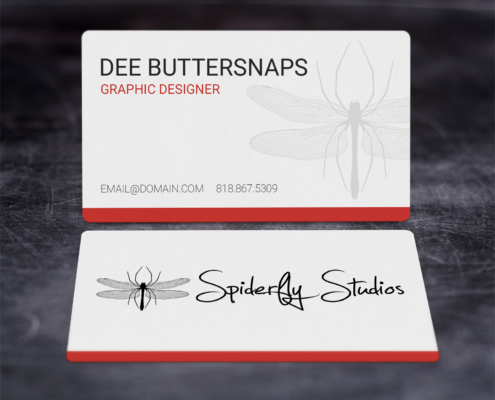 Creative Corporate Business Cards - Red