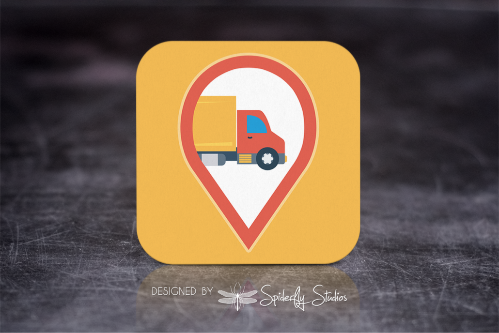 DHL Shopify Labels - Launcher Icon - Spiderfly Studios