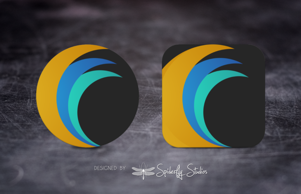 FlipStream Launcher Icon - Spiderfly Studios