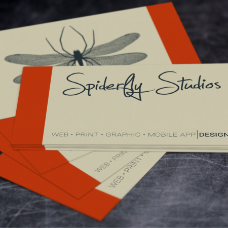 Economy Business Cards - Spiderfly Studios