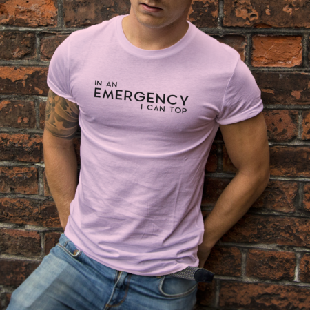 Emergency Top T-Shirt - Spiderfly Studios