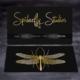 Foil Stamped Business Cards - Gold