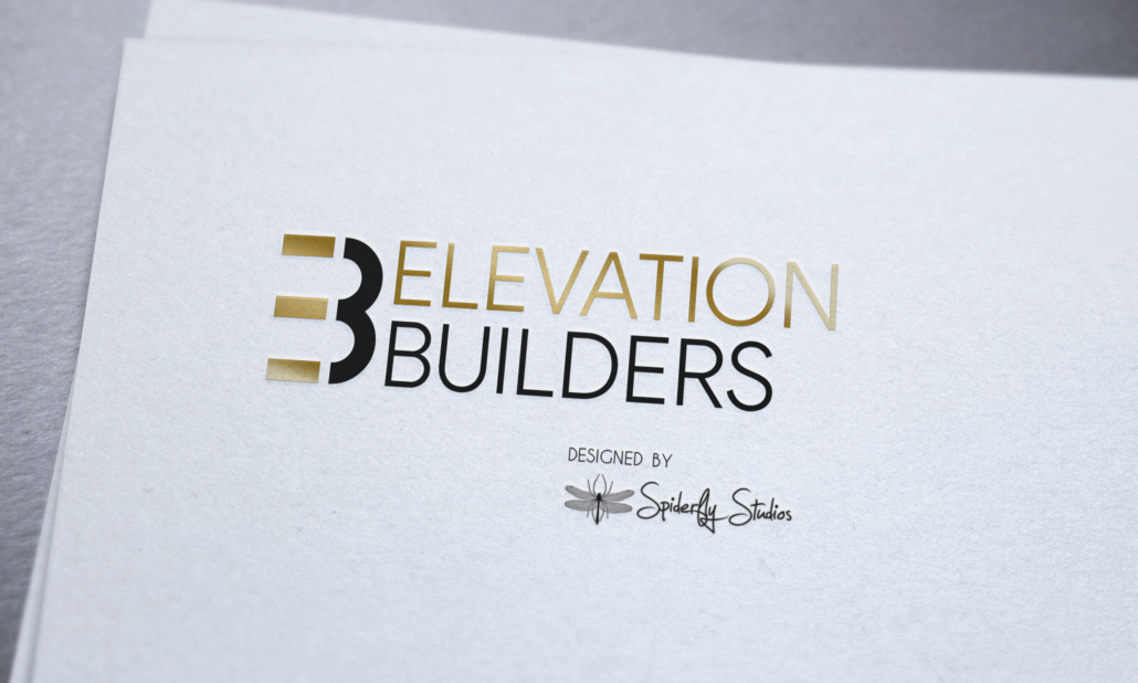 Elevation Builders Logo Design - Spiderfly Studios