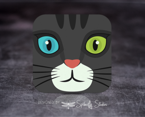 Maneki Launcher Icon - Spiderfly Studios