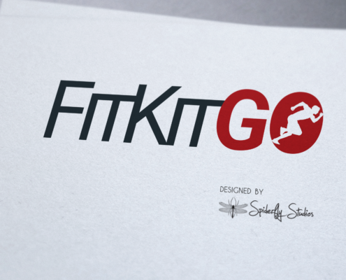 Fit Kit Go Logo - Spiderfly Studios