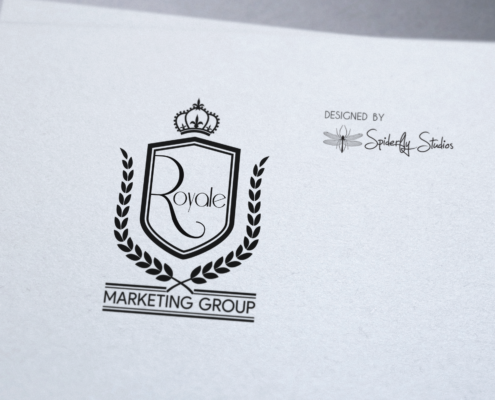 Royale Marketing Group Logo - Spiderfly Studios