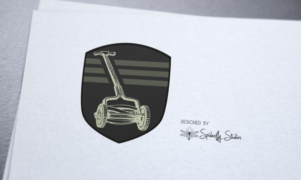 Amar Lawnmower Shop - Logo Design - Spiderfly Studios