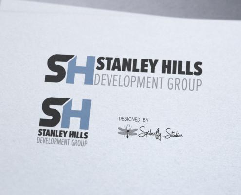 Stanley Hills Logo Design - Spiderfly Studios