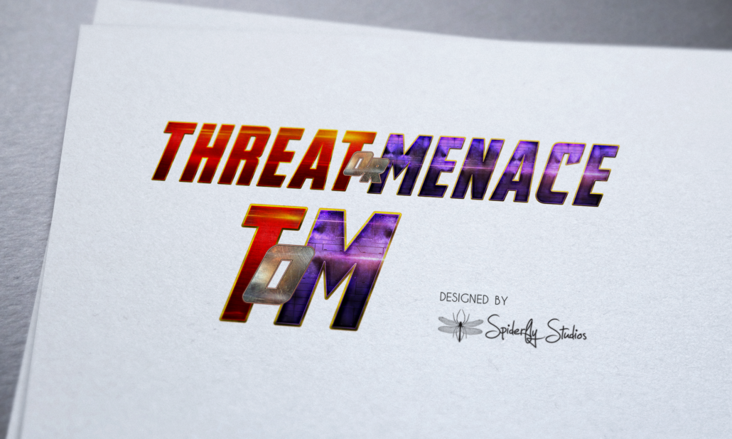 Threat or Menace Logo - Spiderfly Studios
