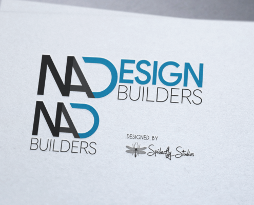 NA Design Builders Logo Design - Spiderfly Studios
