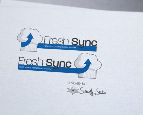 Fresh Sync Logo - Spiderfly Studios
