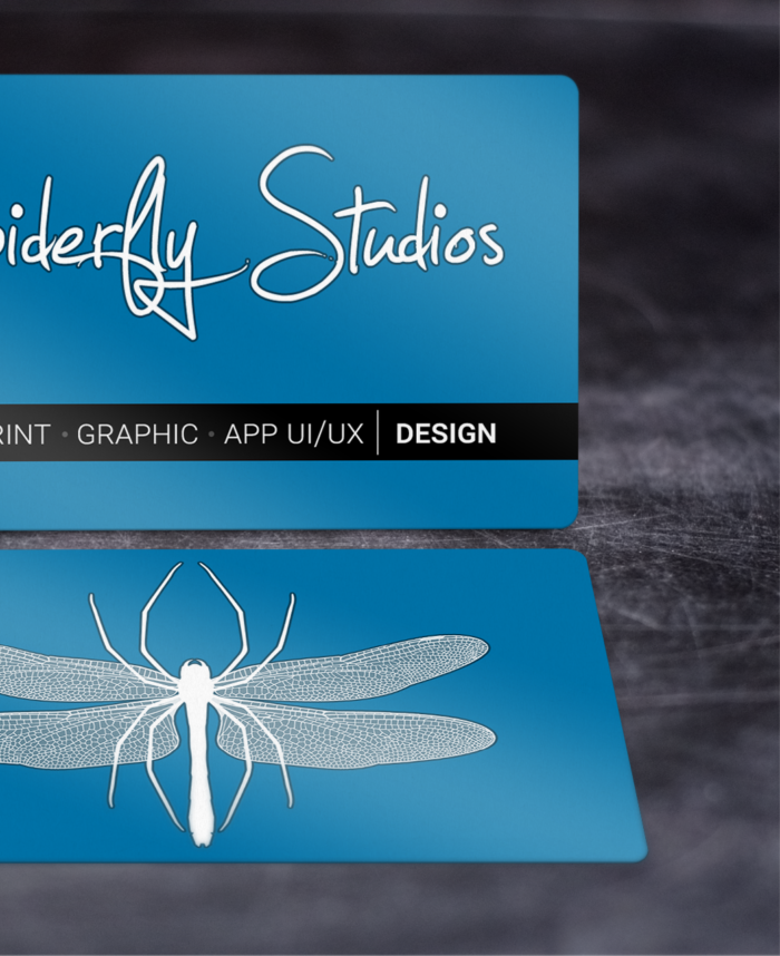 Luster Business Cards - Spiderfly Studios