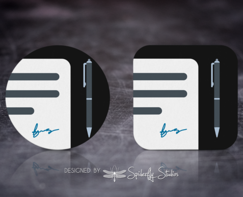 ProNote Launcher Icon - Spiderfly Studios