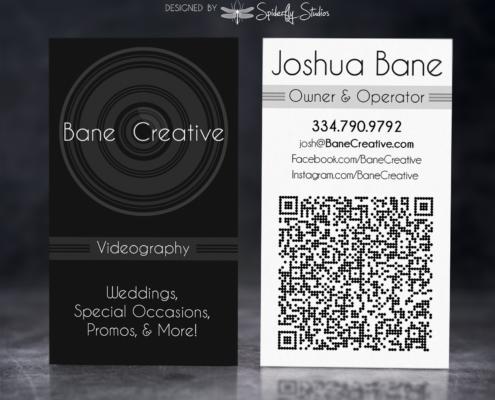 Bane Creative Business Card - Spiderfly Studios