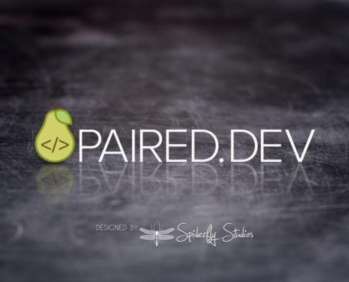 Paired Dev Logo Design - Spiderfly Studios