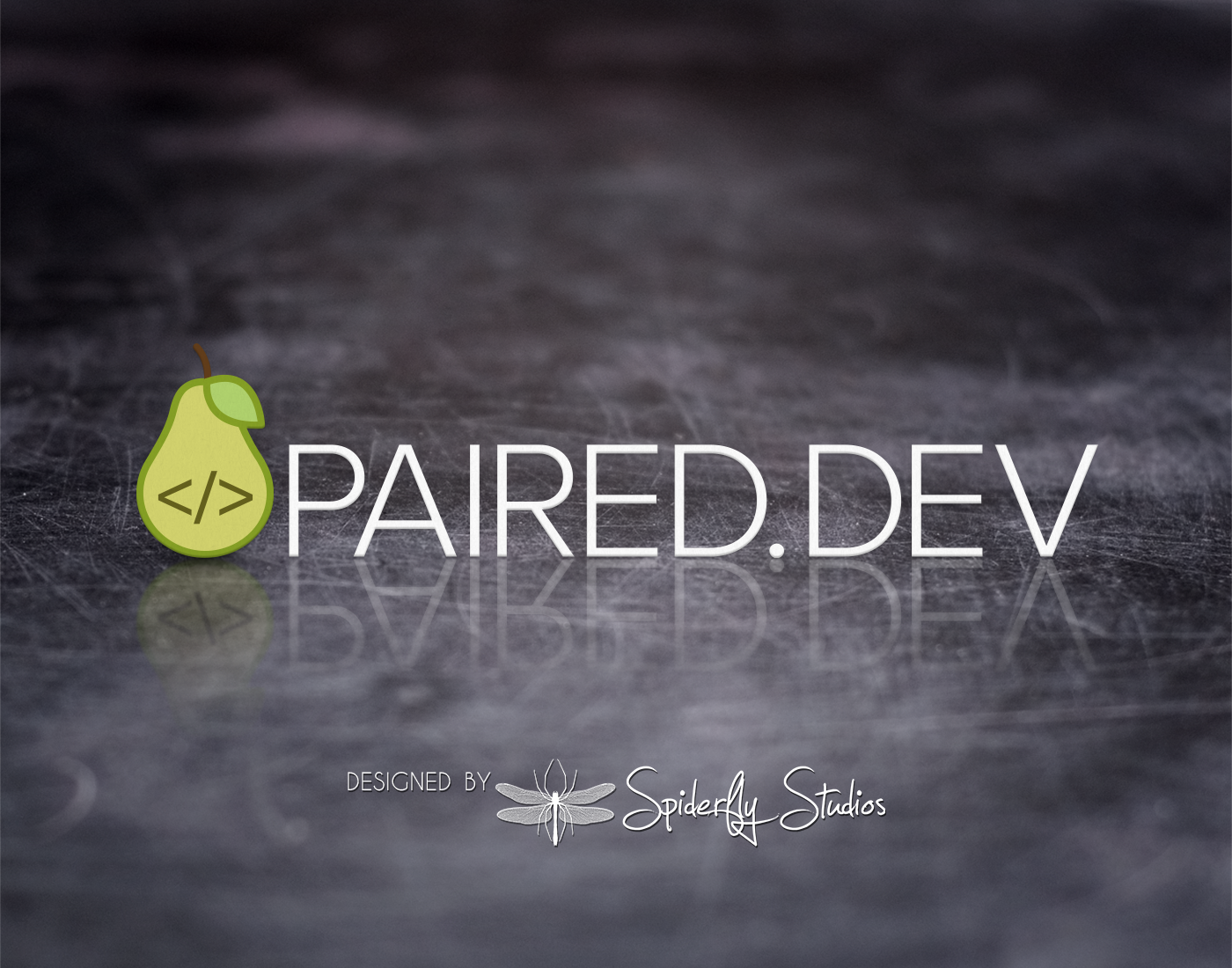 Paired Dev Logo Design - Spiderfly Studios