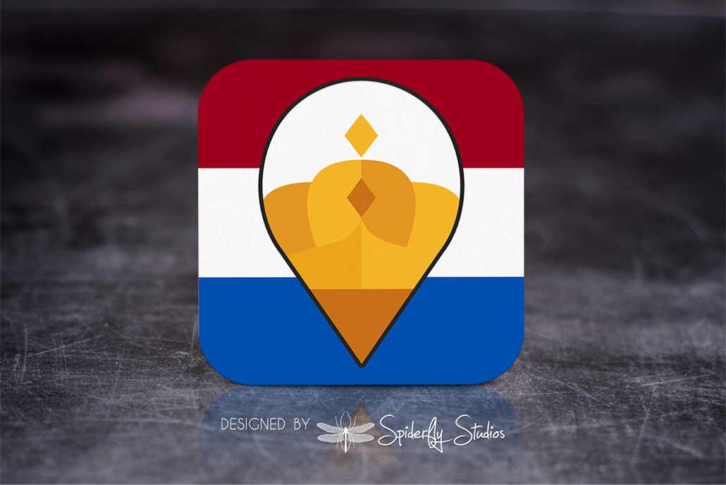 PostNL Shipping Labels - Launcher Icon - Spiderfly Studios