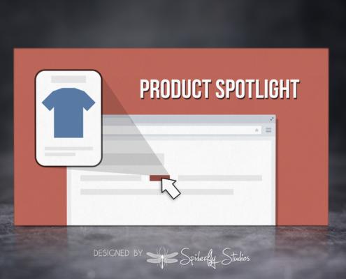 Product Spotlight - App Store Banner - Spiderfly Studios
