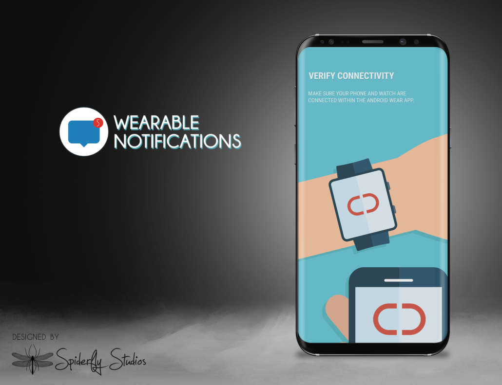 Wearable Notifications Onboarding Screen - Spiderfly Studios