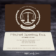 Sperling Law Business Cards - Spiderfly Studios