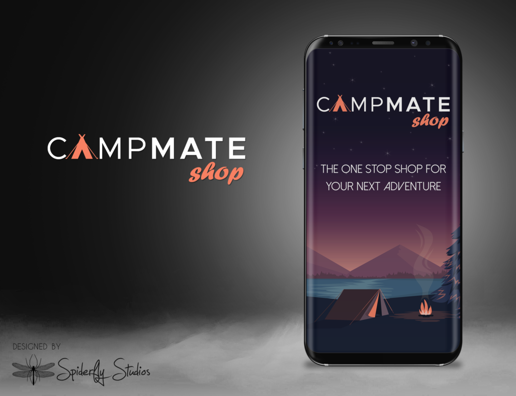 CampMate Splash Screen - Spiderfly Studios