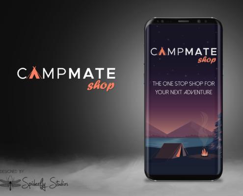 CampMate Splash Screen - Spiderfly Studios