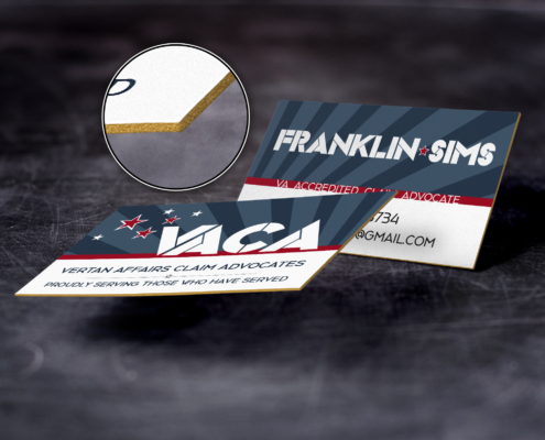 VACA Business Card - Spiderfly Studios