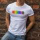 Watercolor Pride T-shirt - Spiderfly Studios